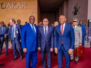 Tony Elumelu at Dakar International forum