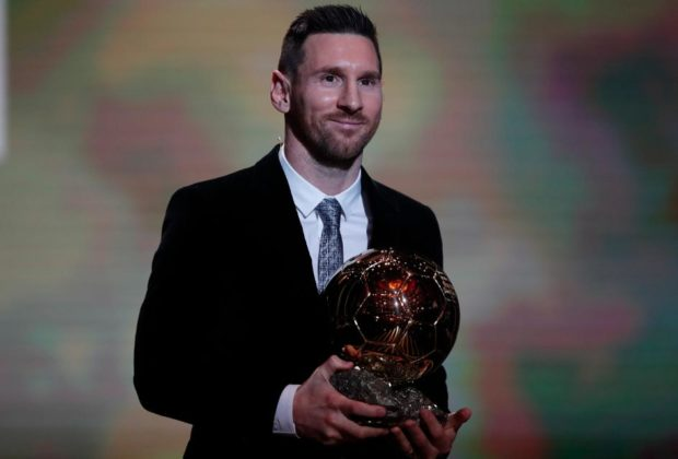 Messi wins 5th Ballon d'Or