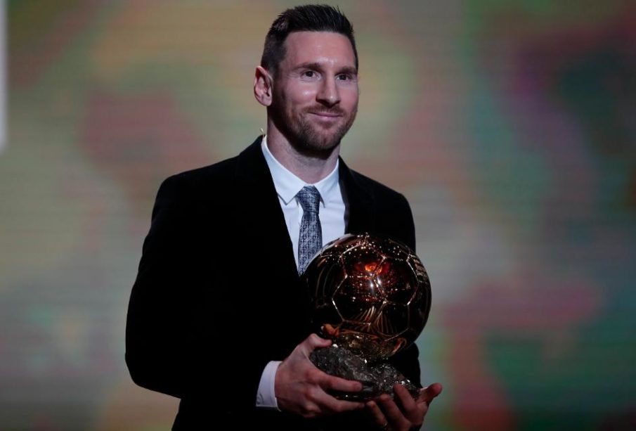 Messi wins 5th Ballon d'Or