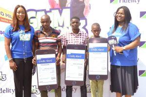 Fidelity GIAM winners
