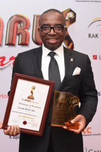 Zenith bank wins pearl awards