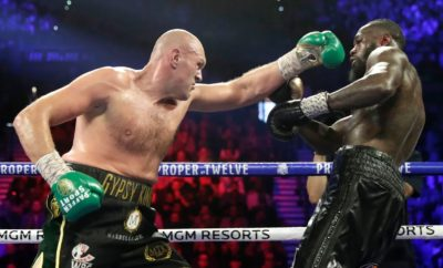 Tyson Fury knocks out Deontay Wilder
