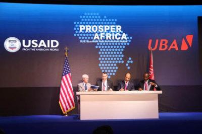 UBA partners USAID