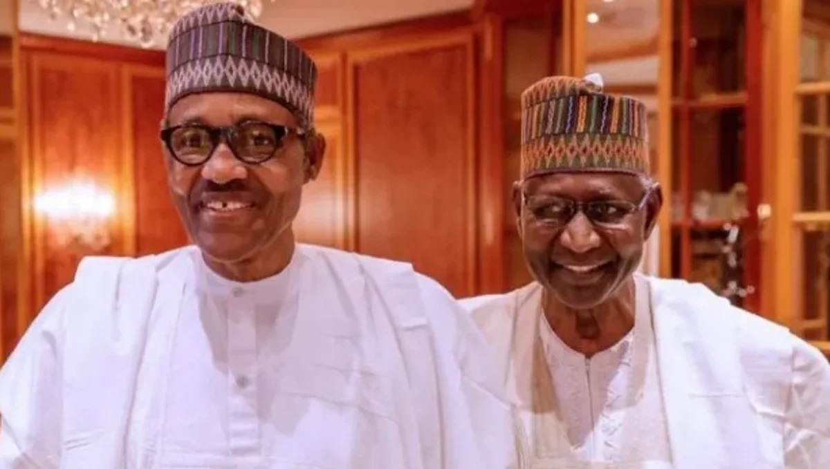 Mohammed Buhari and Abba Kyari