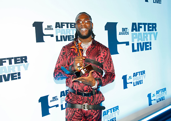 Burna Boy wins 2020 BET awards