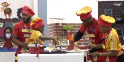 BBNaija cooking competition