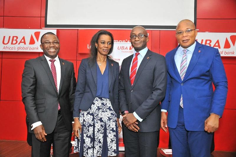 UBA executives at NEC