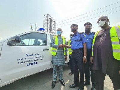 LERSA donates police van to police