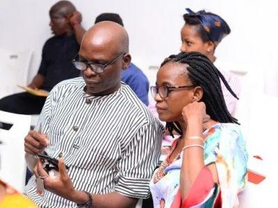 Femi Akintunde and Ire Johnson