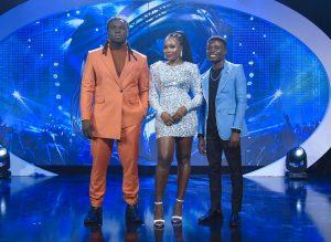 Nigeria Idol final three contestants